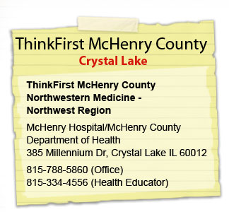 Crystal Lake McHenry County Mental Health Board McHenry County Mental Health Board 620 Dakota Street Crystal Lake, IL 815.455.2828 Tammy Stroud, CADC TBI Coordinator